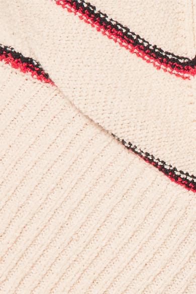 Sonia Rykiel Verkürztes Oberteil aus einer Baumwollmischung mit Streifen