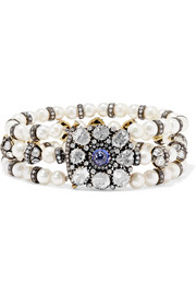 Amrapali Pearl, tanzanite and diamond bracelet