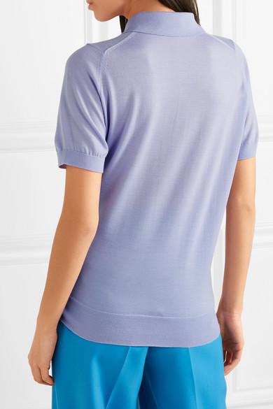 Victoria Beckham Polohemd aus Wolle