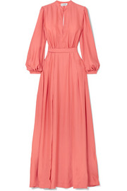 Raquel Diniz Armonia silk-charmeuse maxi dress