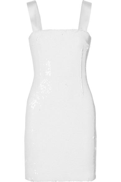Verkaufen Kaufen Galvan Salar Minikleid aus Chiffon mit Pailletten Auslass 2018 Neueste Billig Verkauf Neueste g8vT4T