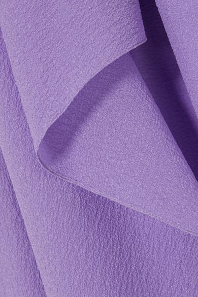Roland Mouret Felcourt Kleid aus Seiden-Crêpe mit asymmetrischer Schulterpartie