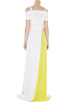 Preen | Harness stretch-jersey gown | NET-A-PORTER.COM from net-a-porter.com