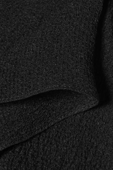 Roland Mouret Bilton Oberteil aus Seidenkrepon mit asymmetrischer Schulterpartie