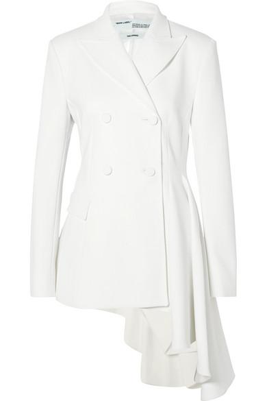 Off-White - Asymmetric Crepe Blazer