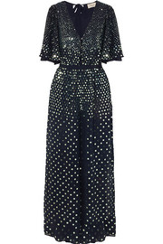 Temperley London Topiary sequined crepe jumpsuit