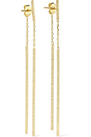 Carolina Bucci Double Magic Wand 18-karat gold earrings