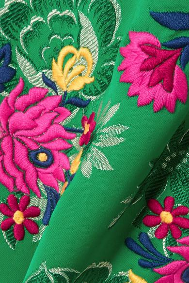 Marni Midirock aus floralem Jacquard