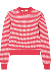 Marni Crocheted cotton sweater