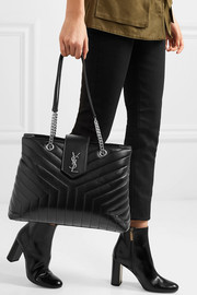 Saint Laurent LouLou large quilted leather shoulder bag