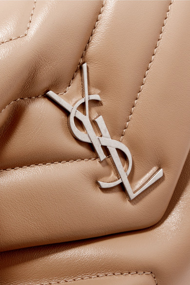 Saint Laurent Loulou Schultertasche Quilted Leather