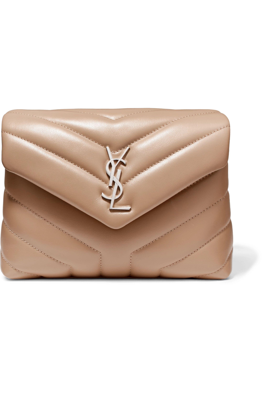 SAINT LAURENT Loulou quilted leather shoulder bag