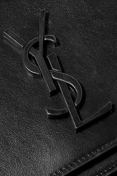 Saint Laurent Spontini Schultertasche aus Leder