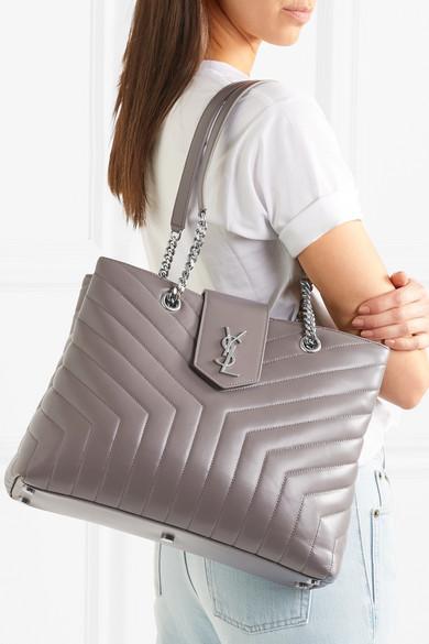 Saint Laurent Loulou Large Quilted Leather Shoulder Bag