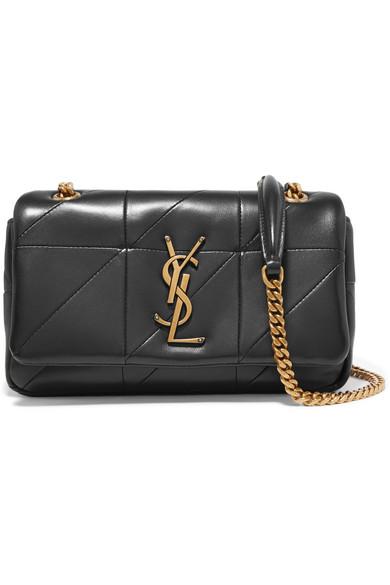 Jamie Small Quilted Leather Shoulder Bag - Red Saint Laurent NXfCR2ems