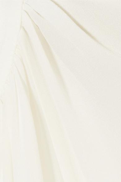 Mugler Bluse aus Seidenchiffon
