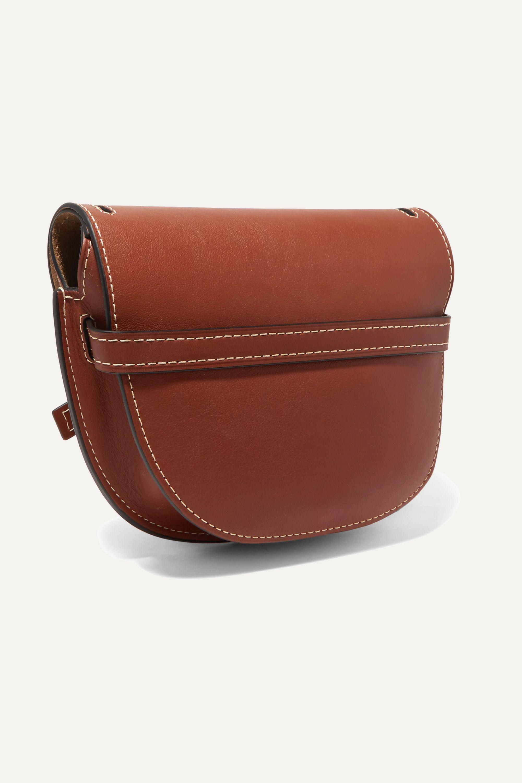 Loewe Gate kleine Schultertasche aus Leder