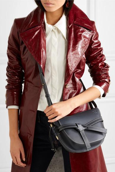 ea38ce54d224 Gate small leather shoulder bag