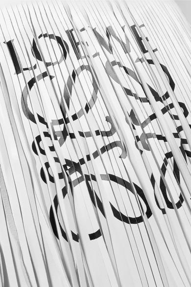 Loewe Tote aus Leder mit Print Rabatt-Spielraum Freies Verschiffen Großer Verkauf Verkauf Finish 2018 Online #NAME? hF9lTi