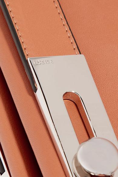 Loewe Missy mittelgroße Schultertasche aus Leder