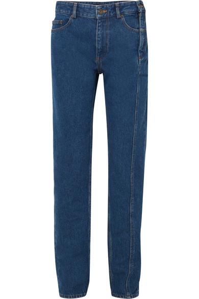 High-rise Straight-leg Jeans - Dark denim Y / Project fCwmAgwF