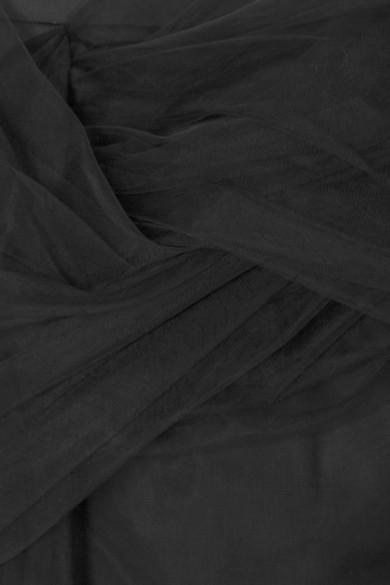 Y/PROJECT Minirock aus Tüll und Satin mit Twist-Detail