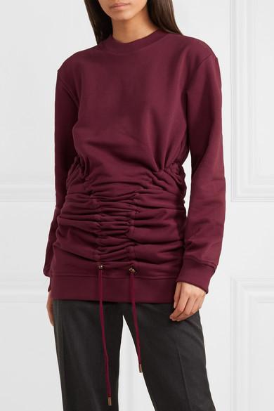 Y/PROJECT Sweatshirt aus Baumwoll-Jersey mit Kordelzügen