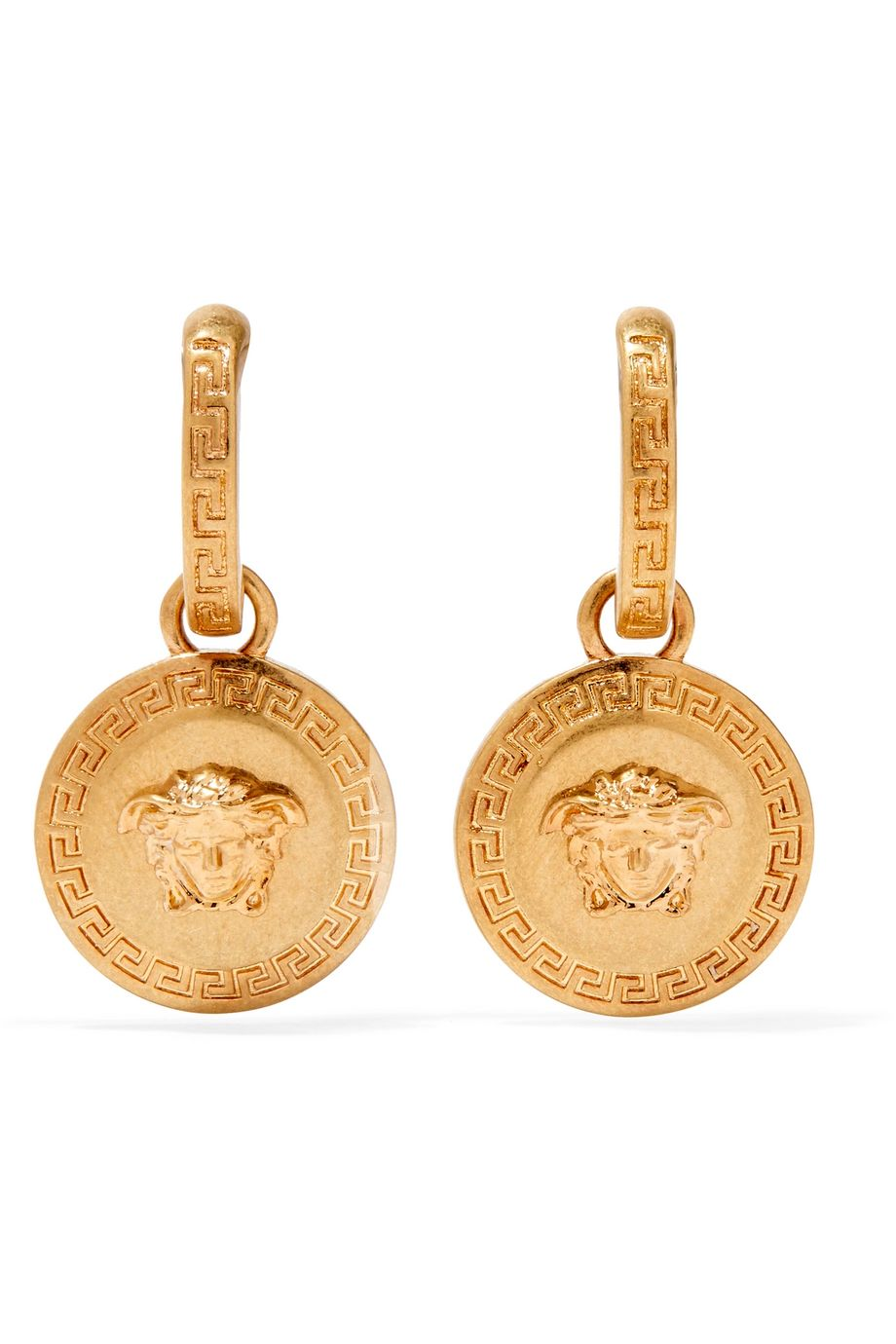 Versace Gold-plated earrings