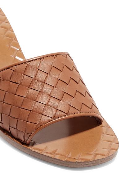 Bottega Veneta   Mules aus Intrecciato-Leder Intrecciato-Leder aus 261234