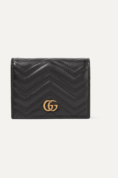 f666cbebcbf6 Gucci | GG Marmont small quilted leather wallet | NET-A-PORTER.COM