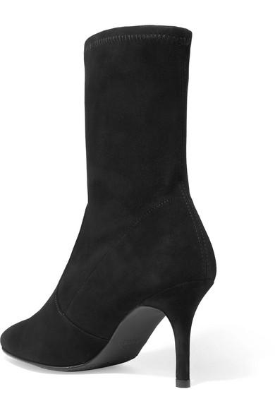 Discount-Marke Neue Unisex Günstig Kaufen Low-Cost Stuart Weitzman Cling Sock Boots aus Veloursleder Günstig Kaufen Preis xQnyROR