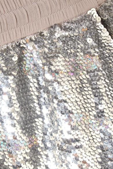 Ashish Jogginghose aus Baumwolle mit Pailletten