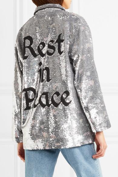 Ashish Paillettenverziertes Hemd aus Georgette Schnelle Lieferung Online Billige Footaction Günstig Kaufen Billig Verkauf Shop Freies Verschiffen Nagelneues Unisex hl8xOG7VF