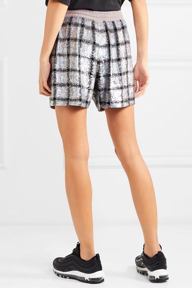 Ashish Paillettenbesetzte Shorts aus Baumwolle