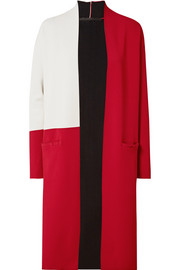 Haider Ackermann Color-block stretch-knit cardigan