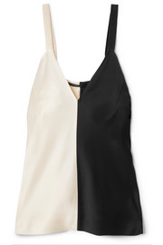 Haider Ackermann Two-tone satin camisole