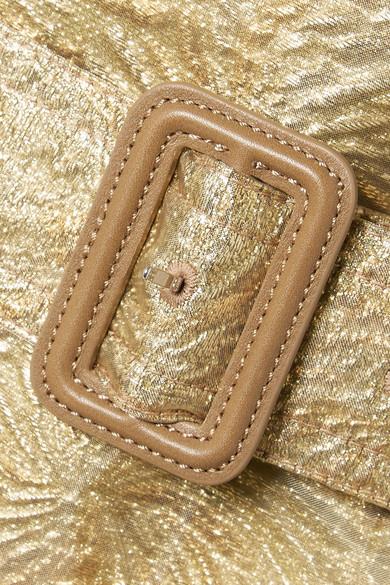 Rabatt Limitierte Auflage Maison Margiela Trenchcoat aus Metallic-Brokat und Organza Billig Original qTgwVermD