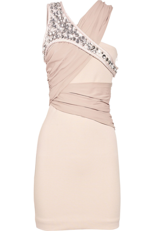 Neutral Write The Future Stretch Jersey Dress Sass Bide Net A Porter