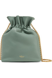 Lynton mini leather bucket bag