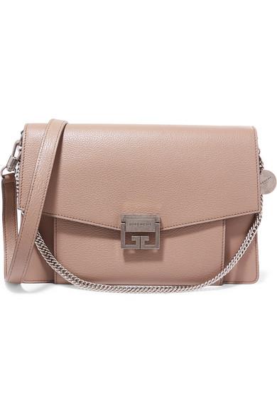 Givenchy. GV3 medium textured-leather shoulder bag 3b16fa0f17eb8