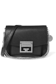 GV3 mini textured-leather shoulder bag
