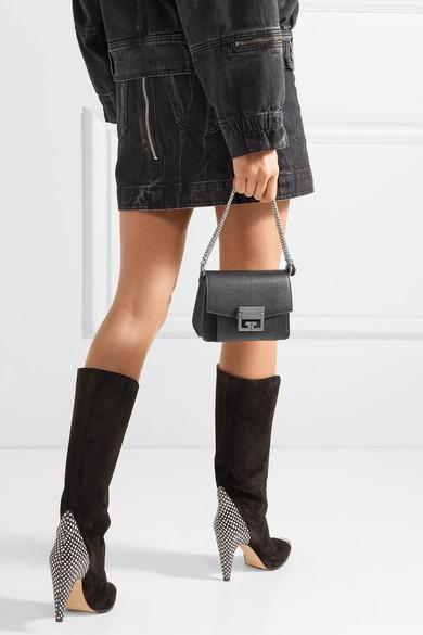 d1daee7bd7 GV3 mini textured-leather shoulder bag