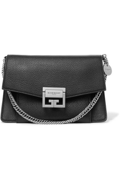 Givenchy GV3 kleine Schultertasche aus strukturiertem Leder