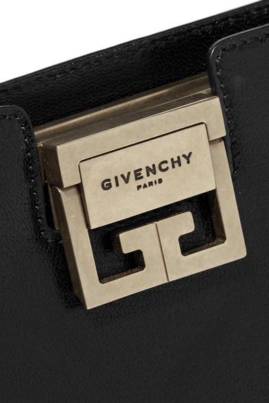 Givenchy GV3 Schultertasche aus strukturiertem Leder