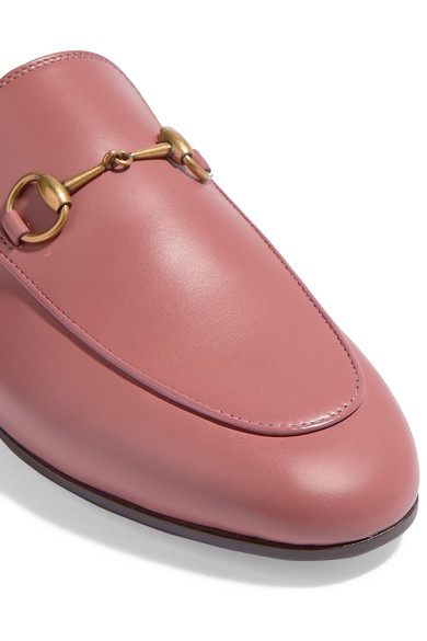 83fc9e8cc Princetown horsebit-detailed shearling-lined leather slippers. $995.00.  Zoom In