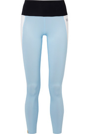 Asana color-block stretch leggings