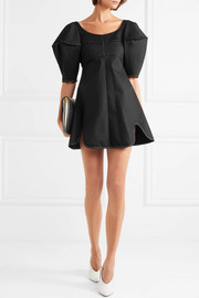Utopian Fantasy cotton-twill mini dress