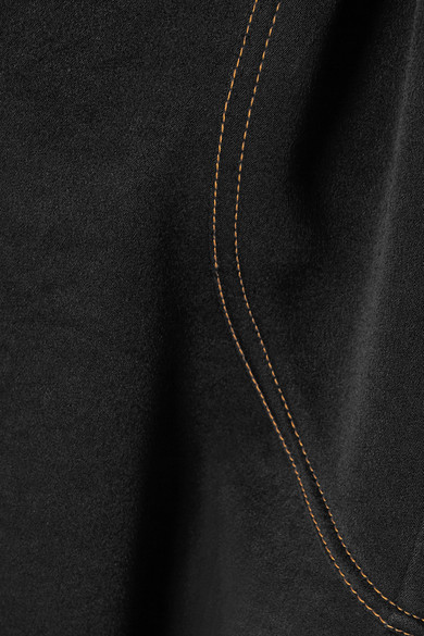 Ellery Orbit asymmetrischer Midirock aus Crêpe