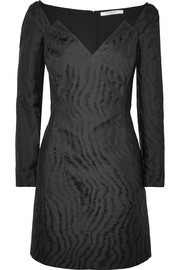 Givenchy Moire-jacquard mini dress