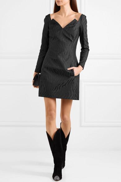 Givenchy Minikleid aus Moiré-Jacquard